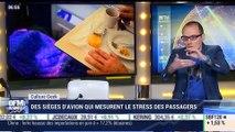 Anthony Morel: Des sièges d'avion qui mesurent le stress des passagers – 13/07