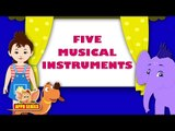 Song on Musical Instruments - Five Musical Instruments in Ultra HD (4K)