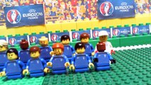 Euro 2016 Semi-Final - Portugal vs Wales 2-0 in Lego Football Goals and Highlights