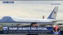 Air Force One vient d'atterrir à l'aéroport d'Orly