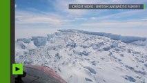 Un iceberg colossal de mille milliards de tonnes se détache de l'Antarctique