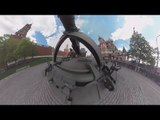 VDay in 360 : 2S35 Koalitsiya-SV self-propelled gun drive through Red Square