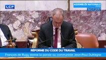 """François de Rugy se défend après son """"Putain, il est chiant lui"""""""