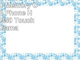 8GB Intel MicroSD HC Micro SDHC Memory Card for Cell Phone HTC Wing P4350 Touch Dual