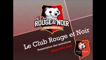 Programme des animations club rouge et noir  saison 2017/2018