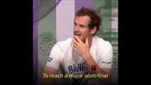 Le tennisman Andy Murray remet à sa place un journaliste un peu sexiste