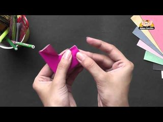 Origami - Origami in Sindhi - How to make a Heart