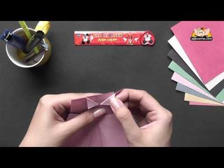 Origami - Origami in Sindhi - Learn to make a Dress