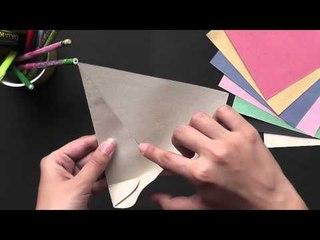 Origami - Origami in Sindhi - Make a Japanese Envelope