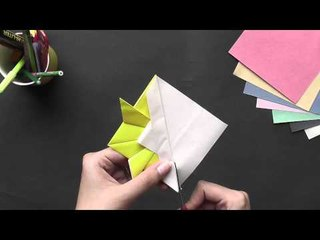 Origami - Origami In Sindhi - Make a Gold Fish