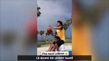 Lukaku annonce son transfert à MU avec Pogba, le dunk de Leroy Sané