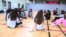 Le collège Simone Veil d'Aulnay-sous-Bois danse le hip hop