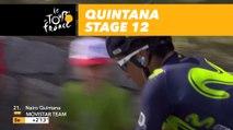 Quintana est lâché / is dropped! - Étape 12 / Stage 12 - Tour de France 2017