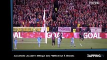 Alexandre Lacazette à Arsenal : Premier match, premier but ! (Vidéo)