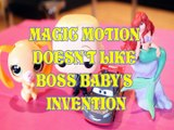 MAGIC MOTION DOESN'T LIKE BOSS BABY'S INVENTION LITTLEST PET SHOP MCQUEEN ARIEL Toys Kids Video