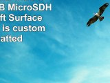 Professional Ultra SanDisk 16GB MicroSDHC Microsoft Surface Pro 3 card is custom formatted