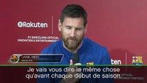 """Barça - Messi """"impatient de reprendre"""" la compétition"""
