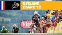 Résumé - Étape 12 - Tour de France 2017