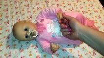 Et réponses bébé les créations pleurs détails poupée alimentation les questions à Il Zapf annabell