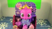 Mon petit poney Parlant Princesse afin doux nouveau née peluche bébé poupée examen par bacs jouet