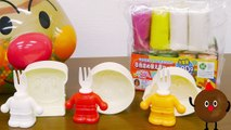Jouets chanson Film Jouons avec four à micro-ondes jouets Anpanman anime dans la TV usine du pain Anpanman