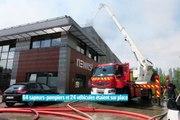 Le Mesnil-Amelot : un incendie ravage l'entreprise Newrest