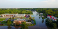 Drone Footage Shows Extent of Grayslake Flooding