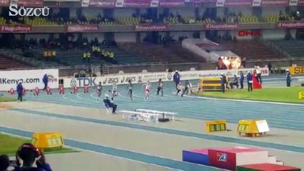 Dünya Yıldızlar Atletizm Şampiyonası'nda Mizgin Ay'dan altın madalya