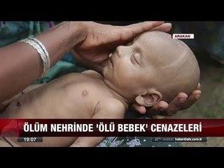 Ölüm nehrinde ölü bebek cenazeleri - 15 Eylül 2017