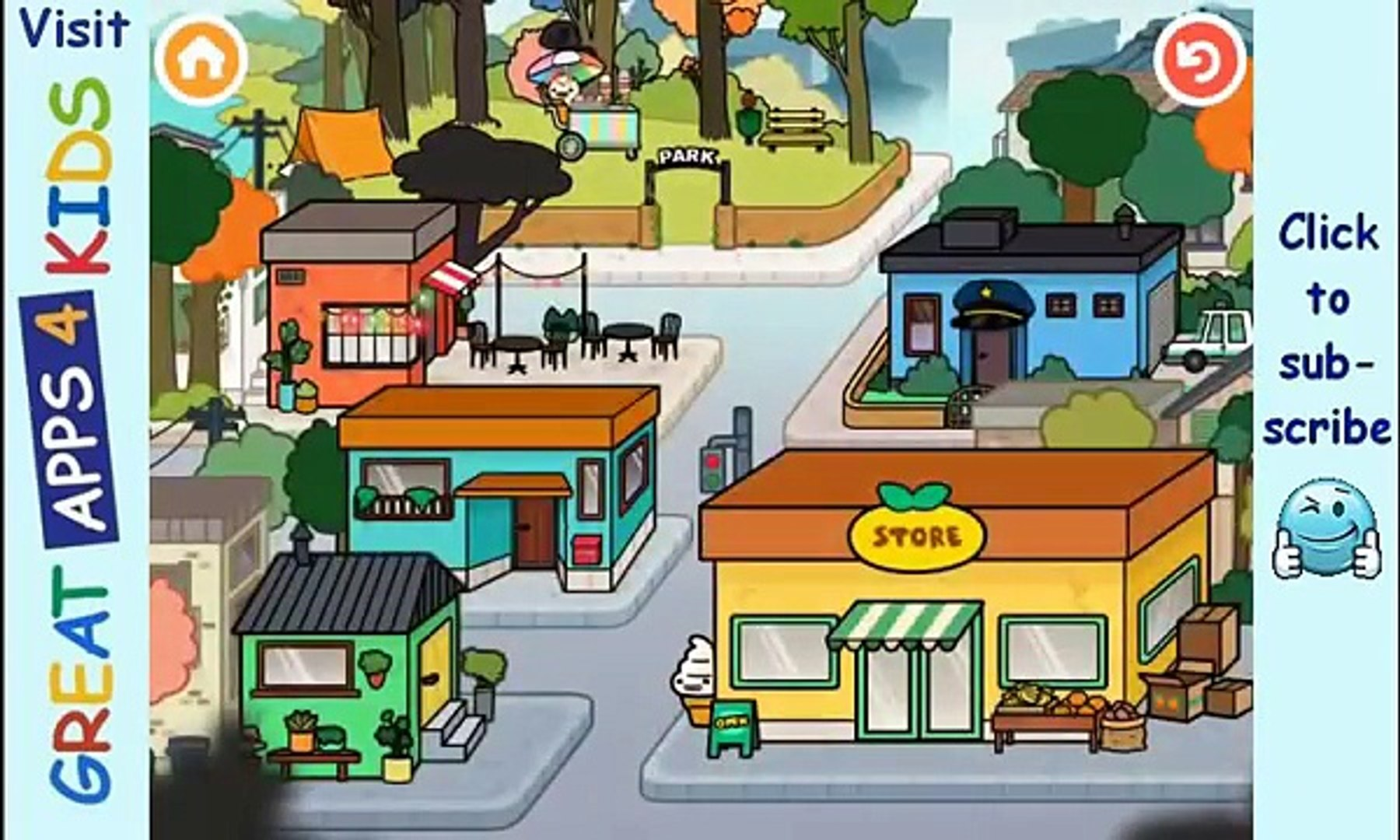 Toca Life Town | Activity App For Kids