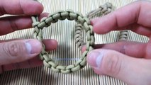 How to Make a Mad Max Snake Knot Paracord Bracelet Tutorial - Vídeo