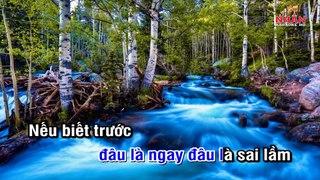Giot Nuoc Mat Chay Nguoc Karaoke Beat Tone Nam