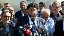 """15 Temmuz Şehitler Köprüsü Davası Öncesi """"Şehitler Makamı""""nda Açıklama Yapıldı"""