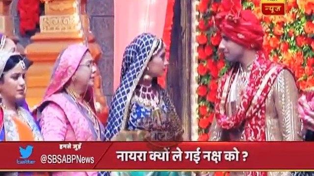 Yeh Rishta Kya Kehlata Hai_ Naira takes away Naksh from mandap, big reason behind it!