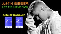 JUSTIN BIEBER - LET ME LOVE YOU CHORDS   TUTORIAL CHORDS   HOW TO PLAY ON GUITAR LET ME YOU