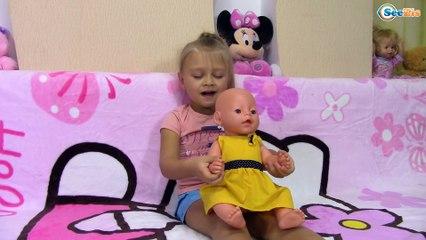 Bad Baby Телепортация на море Кукла Беби Бон Купаемся в Одежде Entertainment for Children