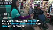U.S. loses 33,000 jobs because of Hurricanes Harvey and Irma