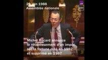 """L'ISF selon Michel Rocard : une """"contribution de solidarité, pas une revanche contre les riches"""""""