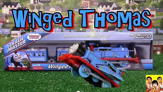 Thomas and Friends Trackmaster Winged Thomas Thomas and Friends toy trains Thomas & Friends