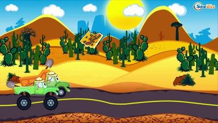 Трактор Павлик и Рабочие машинки - Развивающие мультики для детей - Детские видео