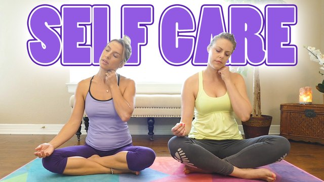 Relaxing Stretches for Headaches, Neck Pain, Tense Shoulders, Sleep Aid | Chandler Rose Self Care