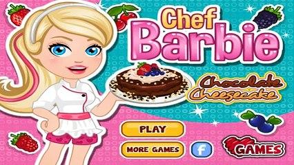 Mainan Barbie Online Bayi Masak Masakan Barbie Memasak Mainan Anak Anak Chef Chocolate Cheesecake Video Dailymotion