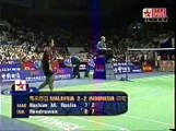Badminton Legend Hendrawan Become Indonesian Hero @ 2002 Thomas Cup Final