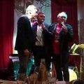 Bruno Giordano canta l'inno della Lazio alla presentazione del suo libro