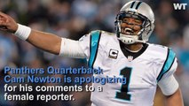 Cam Newton Apologizes For Degrading Comments To Female Reporter