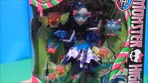 Monster High Exclusive Sweet Screams Dolls Ghoulia Abbey Frankie Draculaura Deboxing Toy Review