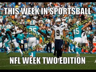 This Week in Sportsball: NFL Week Two Edition