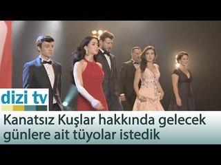 Kanatsız Kuşlar ekibi atv yeni sezon tanıtım çekimlerinde! - Dizi Tv 558. Bölüm