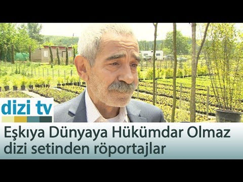 Eşkıya Dünyaya Hükümdar Olmaz dizi setinden röportajlar - Dizi Tv 561. Bölüm