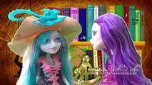 Monster High Stories With Toys & Dolls - GHOST SHIP!! DRACULAURA AND THE GHOULS ARE SCARED